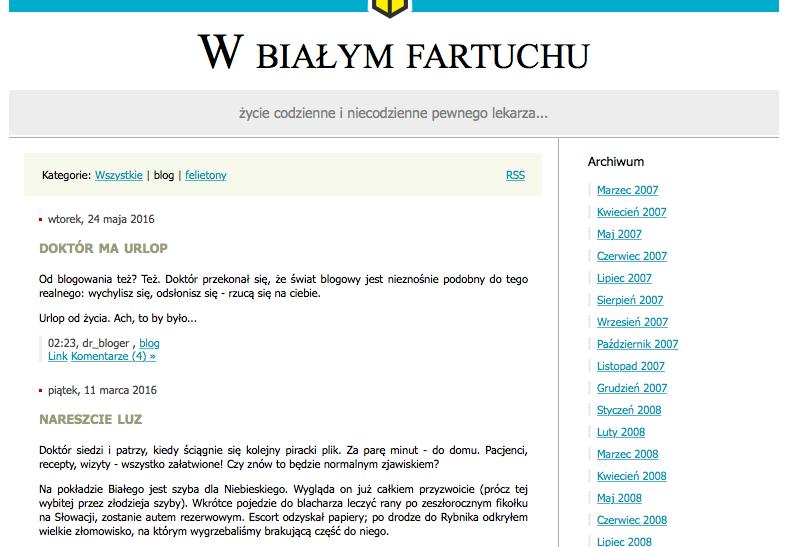 doktorissimus.blox.pl blog medyczny