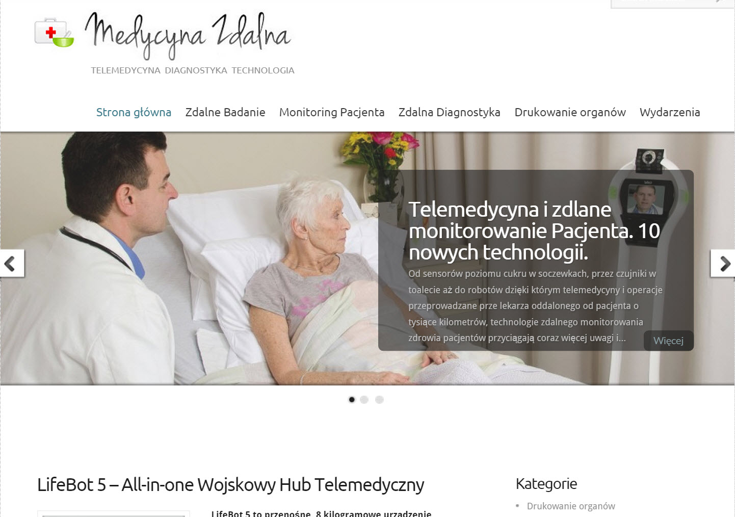 medycyna zdalna telemedycyna
