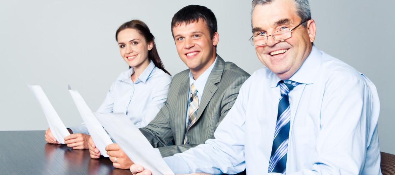 Uśmiech podczas rozmowy kwalifikacyjnej